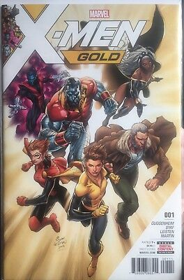 X-Men Gold #1 #2 #3 First Print All First Prints Controversial Syaf Art Issue 1