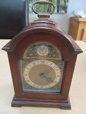 Antique Bayard DB French wooden cased Mantle clock (great restoration project)