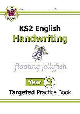 New KS2 English Targeted Practice Book: Handwriting - Year 3 by CGP Books...