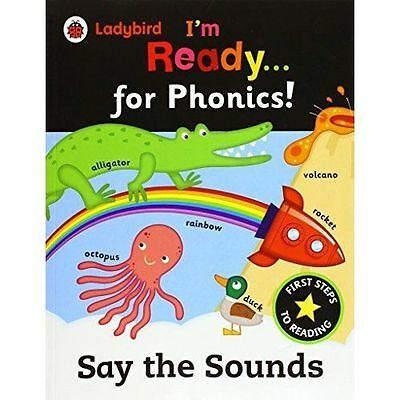 Ladybird I'm Ready for Phonics: Say the Sounds by Penguin Books Ltd...