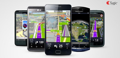 Sygic GPS Navigation Lifetime License Key Worldwide PREMIUM +TRAFFIC+HUD+Dashcam