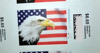 Priority Mail Postage $6.65 Stamps, face value $159.60, 24 pieces
