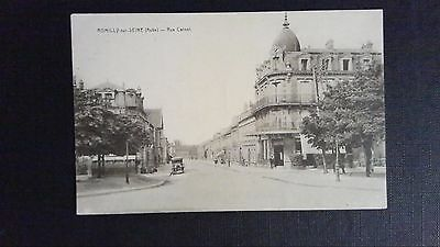 CPA Romilly-sur-Seine rue Carnot