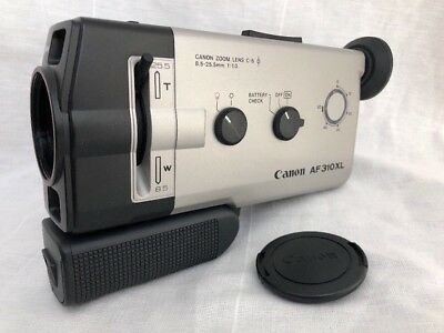 CANON AF 310XL Super 8mm Camera Excellent Clean w/ Manual & Case f/1.0 Low Light