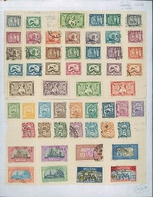 1889-1900's Asia Indochina Mint & Used Postage Stamp Collection Value $2,614