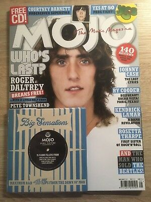MOJO Magazine - May 2018  Roger Daltrey Pete Townsend Johnny Cash & Free CD