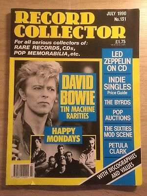 Record Collector Magazine  July 1990  No 131  Led Zeppelin  David Bowie