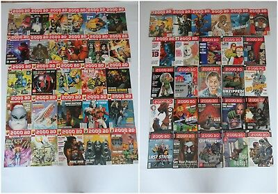 2000AD Prog Comic Magazine Job Lot Bundle - Judge Dredd Vintage 90s RARE Issues