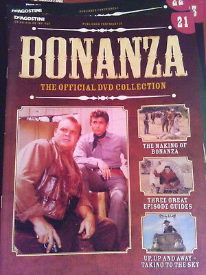 Bonanza DVD magazine guide issue 21