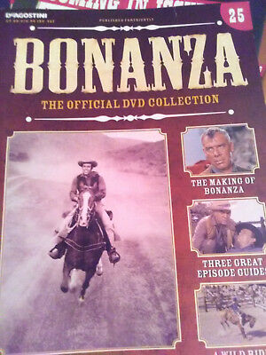 Bonanza magazine DVD guide issue 25.