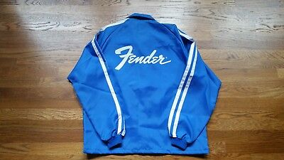 NOS 1970's Vintage Fender Guitar Jacket    Nylon  Promo Display Item