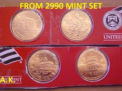 2009 P & D   Lincoln One Cent 8 Coins from mint set
