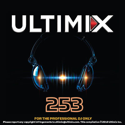 Ultimix 253 CD Calvin Harris Dua Lipa Shawn Mendes Charlie Puth Kenny Chesney