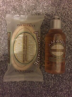 L'Occitane Amande Soap and Shower Gel Travel Duo