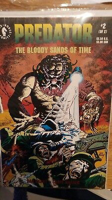 Predator Bloody Sands Of Time. Issues 1-2. Dark Horse Comics. 1992.
