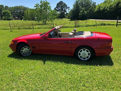 1993 Mercedes-Benz 500-Series Leather 1993 mercedes-benz 500sl base 5.0l