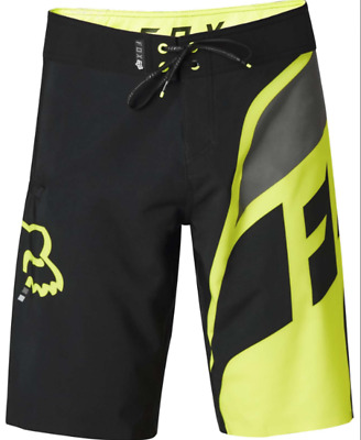 Fox Racing Dive Seca Boardshorts Swim Trunks - Flo-Yellow *Various Sizes
