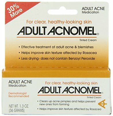 Adult Acnomel Tinted Cream 1.3 oz (4 Pack)