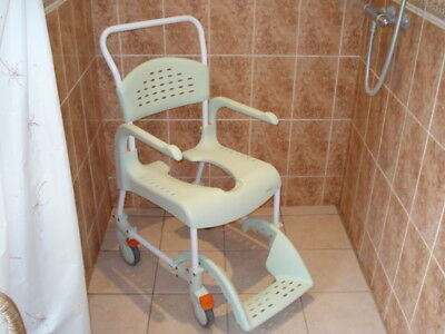 SHOWER/COMMODE CHAIR - £64.00 | PicClick UK