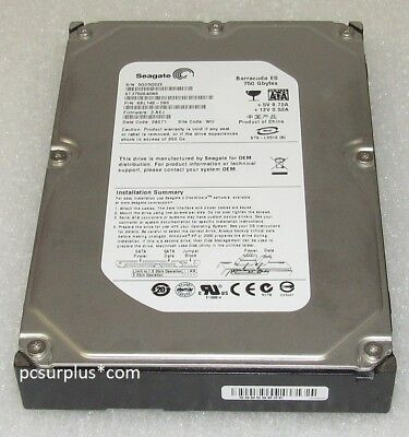 "* LOT of 24 PCS * Seagate ST3750640NS 750GB 7200 RPM  SATA 3.5"" Hard Drive"
