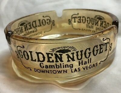 "Golden Nugget Casino, Las Vegas, Ashtray,  3.5"" Rnd,"