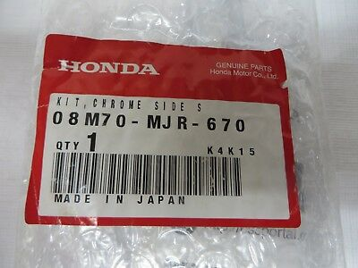 Kickstand Chrome For Honda 2014 Valkyrie , Goldwing 1500C New In Box
