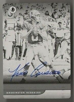 2018 Panini Plates And Patches Kirk Cousins Auto #d 1/1 Printing Plate Redskins