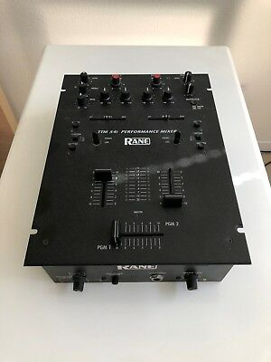 RANE TTM 54i Performance 2 Channel Battle Style DJ Mixer, Lovingly Used