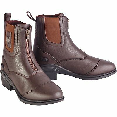 Just Togs Shoredich Womens Boots Short Riding - Brown All Sizes