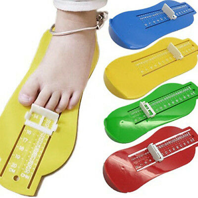 Useful Toddler Baby Kids Shoe Gauge Foot Length Shoes Size Measuring Tool Ornate