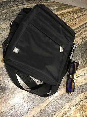 Double Bottle Bag Carrier Feeding Insulated black Carry Kit