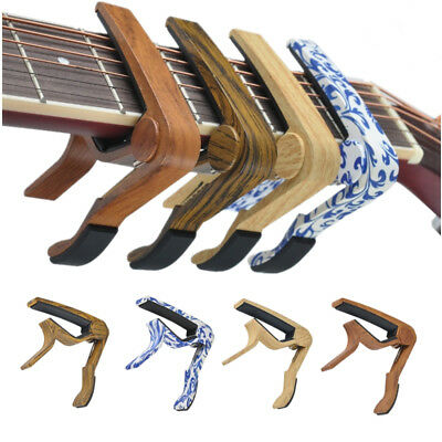 AU Guitar Capo Clamp Electric & Acoustic Ukulele Guitar Quick Trigger Release