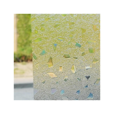 """Frosted Window Film, Privacy White Opal Frost Etched Glass Self Adhesive 35""""x79"""""""