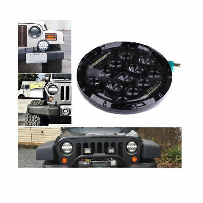 7 Inch Round 75W CREE LED Headlight Beam DRL for Jeep Wrangler JK CJ TJ V147HC