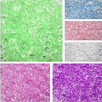 About50g Fishbowl Beads Acrylic Vase Fish Bowl Filler Slime Clay Toy Craft 3C