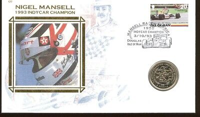 Nigel Mansell - Insel Man, Isle of Man - 2 Pounds Numisbrief 1993