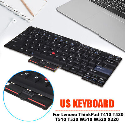 US Keyboard For IBM Lenovo ThinkPad T410 T420 T510 T520 W510 W520 X220