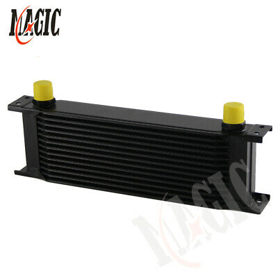13 Row AN10 Engine 248mm Aluminum Oil Cooler Radiator Mocal Style