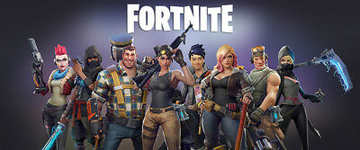 "Fortnite Banner Poster 60""x25"" 36""x15"" Battle Royale Game Art Large Silk"