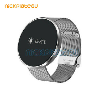 LED Smart Watch Bluetooth Sports Stainless Steel Digital Wrist for IOS/Samsung