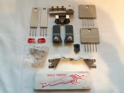 Silver Reed  Knitting Machine Parts Accessories Huge Lot Of Tools Row Counter