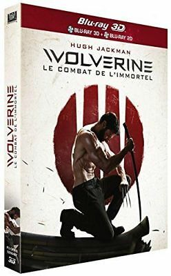 Blu Ray 3D + 2D : Wolverine Combat De L'immortel 3D + Version 2D - NEUF