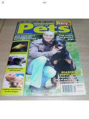 David Alderton's World of Pets magazine #3 2018 Platies Guinea Pigs  Moving Home