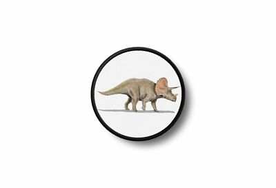 Patch badge insigne ecusson brode imprime thermocollant dinosaure triceratops