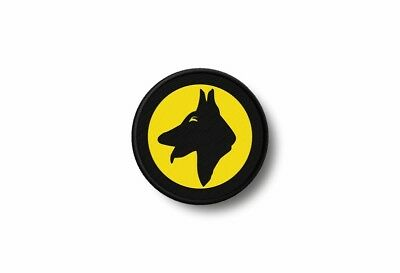Patch badge insigne ecusson brode imprime thermocollant dog guard maitre chien