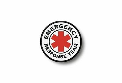 Patch badge insigne ecusson brode imprime thermocollant emergency response team