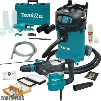 "Makita HR4013C 1-9/16"" SDS-MAX AVT Rotary Hammer w/HEPA Vac+Dust Extraction New"