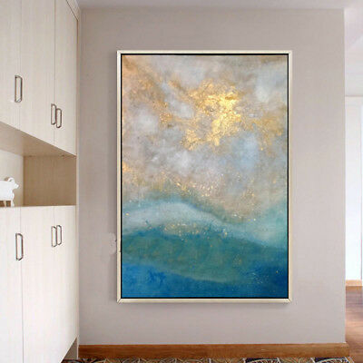 Hand-painted Abstract Canvas Oil Painting Wall Art Home Decor 707