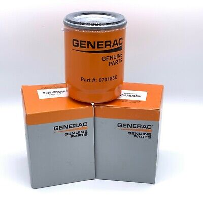 3 PACK- GENERAC- Oil filter, Part# 070185E  070185ES