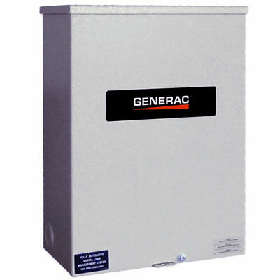 Generac RXSC200A3 120/240-Volt 200-Amp Single-Phase Automatic Transfer Switch